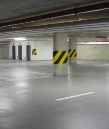 пол на паркинге
