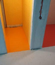 полимерный цветной пол