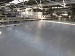 промышленный полиуретановый пол