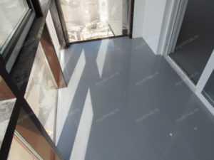 полимерный пол серый