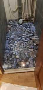 3д пол камни